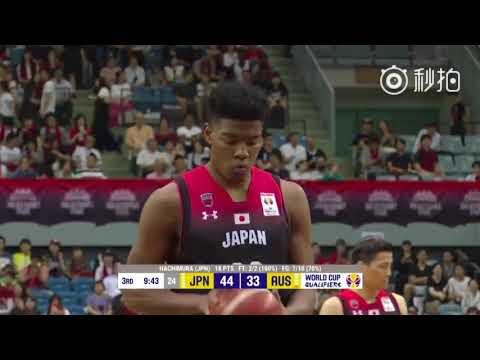 掀翻澳大利亚!Rui Hachimura八村塁 24分个人集锦+慢镜回放| 18.6.30