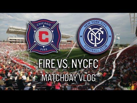 CHICAGO FIRE VS. NYCFC - 2017 MLS MATCHDAY VLOG