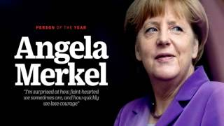 Angela Merkel is TIME's Person of the Year 2015
