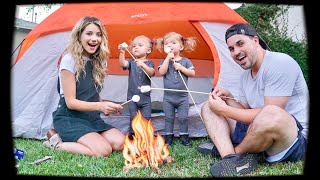FAMILY CAMPING OVERNIGHT CHALLENGE