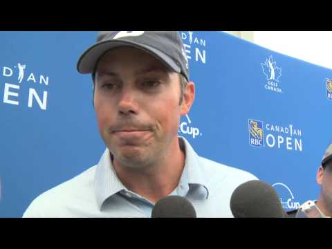 2013 RBC Canadian Open Final Round Interviews: Matt Kuchar