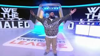 DJ Khaled's Overwatch League Performance
