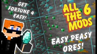 How To Fortune IV ANY Ore With Pinpoint Accuracy in All The Mods 6