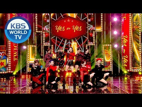 TWICE(트와이스) - YES or YES  [Music Bank / 2018.11.23]