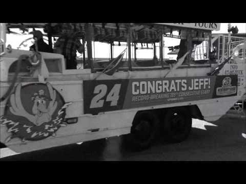 Loudon MagicMile - Jeff Gordon's retirement lap at Louden