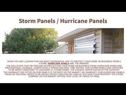 Hurricane Windows & Doors South Florida