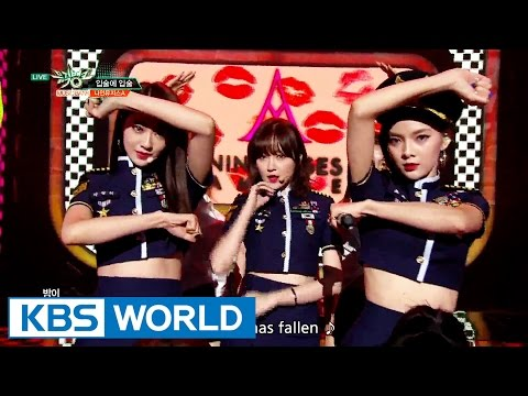 9MUSES A - Lip 2 Lip | 나인뮤지스A - 입술에 입술 [Music Bank / 2016.08.26]