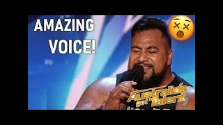 Strongest Man On Earth Eddie Williams SHOCKS With A Singing Audition! | Australia's Got Talent 2019