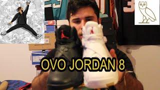 OVO x JORDAN Retro 8 REVIEW