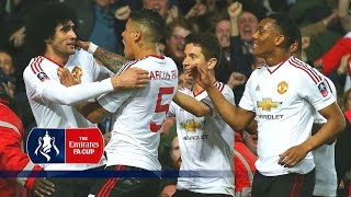 West Ham 1-2 Manchester United (Replay) Emirates FA Cup 2015/16 (R6) | Goals & Highlights