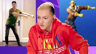 Backpack Kid Judges Fortnite