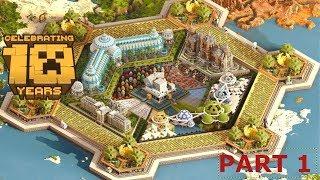 Minecraft: 10 Years Anniversary Map - The Vault?!  (Part 1)