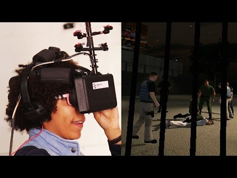 Being A Witness In Virtual Reality