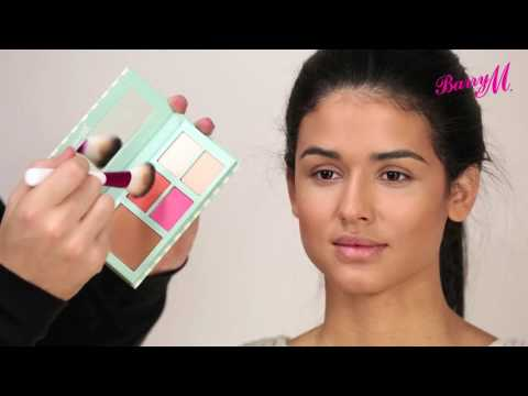 How To Use Barry M's Hide & Chic Palette with Adam Burrell