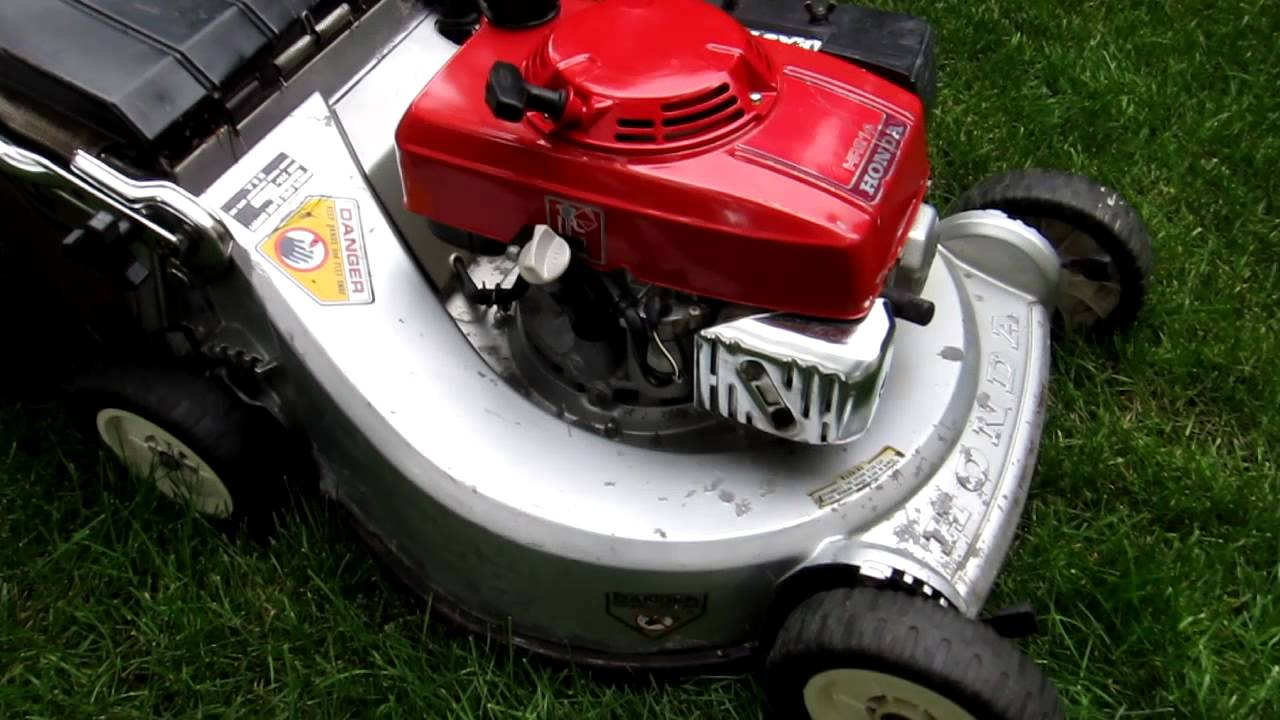 Honda Hr214 Mower With Electric Start Demo For Sale On