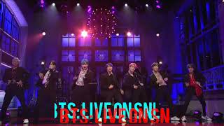 BTS - Boy With Luv LIVE on SNL - Audio