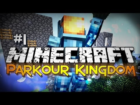Minecraft: Parkour Kingdom - Part 1 - No Sprinting Parkour! - Smashpipe Games