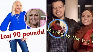 Angela's weight loss and Omar's visa journey | 90 Day Fiance