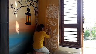 Henna Tree Wall Art Mehndi Design Music Videos