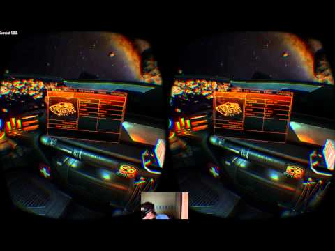 Elite: Dangerous in VR on the Oculus Rift DK2 - World's First
