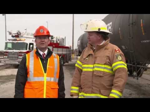 Railways partner with Canadian fire chiefs to promote the AskRail™ app
