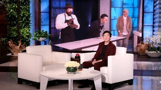 Ellen Leaves a Special Gift for Ken Jeong and the Audience