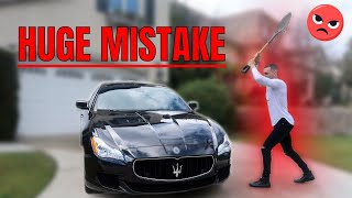 WHY BUYING A MASERATI WAS MY BIGGEST MISTAKE | CAR BUYERS GUIDE