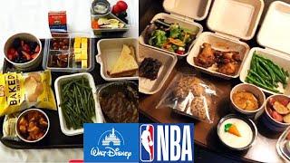 "Inside ""NBA Bubble Food"" at Disney World in Orlando!"