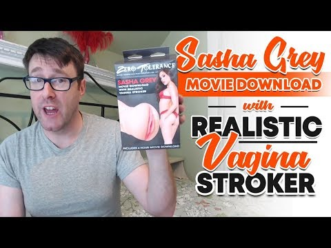 Sasha Grey Movie Download With Realistic Vagina Stroker | Male Pocket Masturbator Kit
