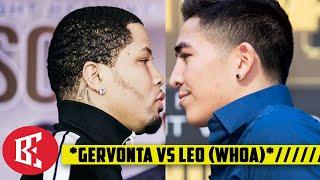 BREAKING: Gervonta Davis SET vs Leo Santa Cruz on Showtime Boxing PPV (WHOA)