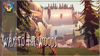 WAY TO THE WOODS FIRST GAMEPLAY TRAILER (Animal Adventure Puzzle Game 2019)