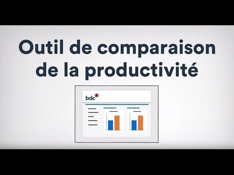 Vidéo : Nouvel outil de comparaison de BDC visant à stimuler la productivité des entreprises