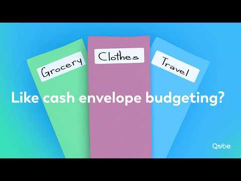 Proactive Spending Digital Cash Envelopes | How the New Qube Money App Works!