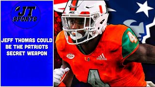 Jeff Thomas Could Be The New England Patriots Secret Weapon | NFL