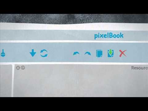 PixelBook, mobile digital publishing for iPad and Android devices.