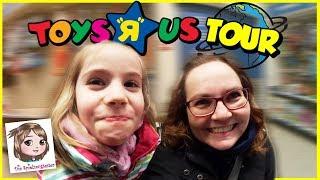 ToysRUs SHOPPING TOUR - Auf der Suche nach Schlittschuhen! - Wir gehen einkaufen!