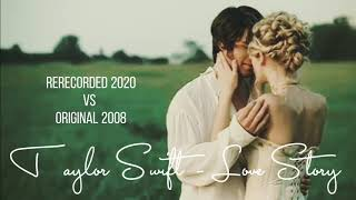 Love Story - Rerecorded 2020 VS Original 2008 by Taylor Swift