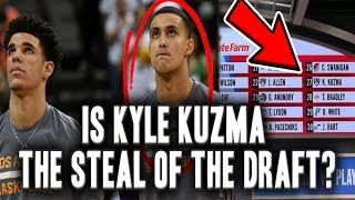 Is Kyle Kuzma The Biggest Steal Of The 2017 NBA Draft?