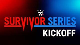 Vídeo WWE Survivor Series 2017 Kickoff
