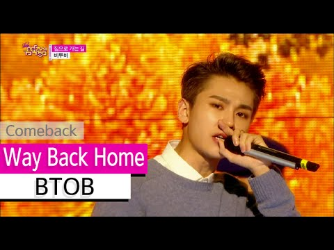 [Comeback Stage] BTOB - Way Back Home, 비투비 - 집으로 가는 길, Show Music core 20151024