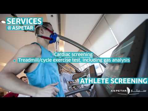 Athlete Screening : Full screening, in one day under one roof