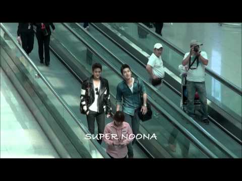 130308 Super Junior at Incheon international airport