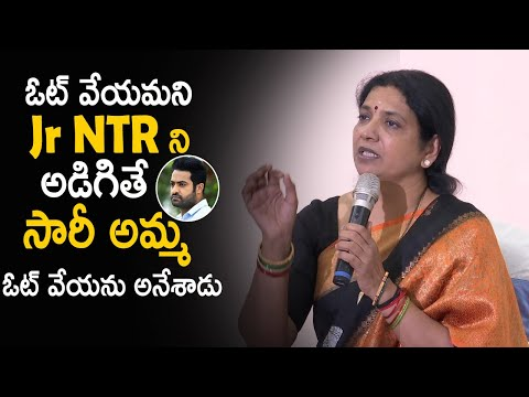 Jr NTR averse to vote in MAA elections: Jeevitha Rajasekhar