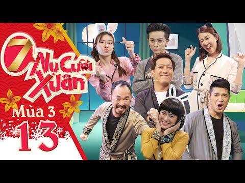 7 Nụ Cười Xuân | Mùa 3-Tập 13: Gil Lê chịu không nổi tuyệt chiêu mỹ nhân kế của Ninh Dương Lan Ngọc