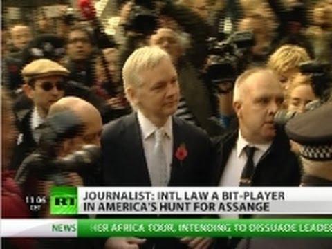 \'Hunt for Assange on, Sweden a tool of US\'