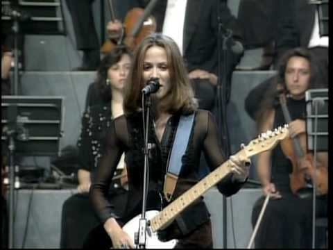 Sheryl Crow and Eric Clapton -
