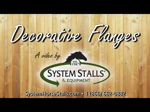 system equine logo with decorative flanges text