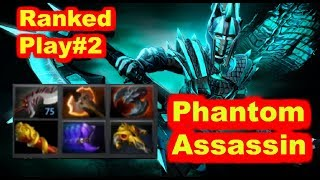Phantom Assassin Ranked Game Play || Dota 2 || Ranked Match