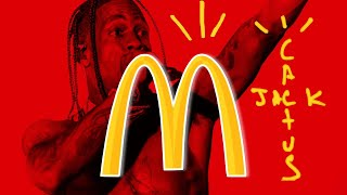 Travis Scott's Official Sandwich from McDonald's leaks online #FoodNews #Foodie