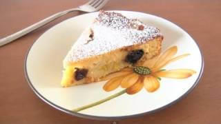 Prune and Banana Yogurt Cake